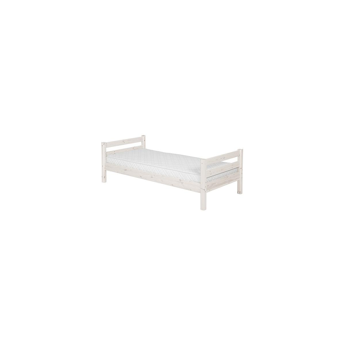 CLASSIC LINE by Flexa Lit de base blanchi 90x190 cm