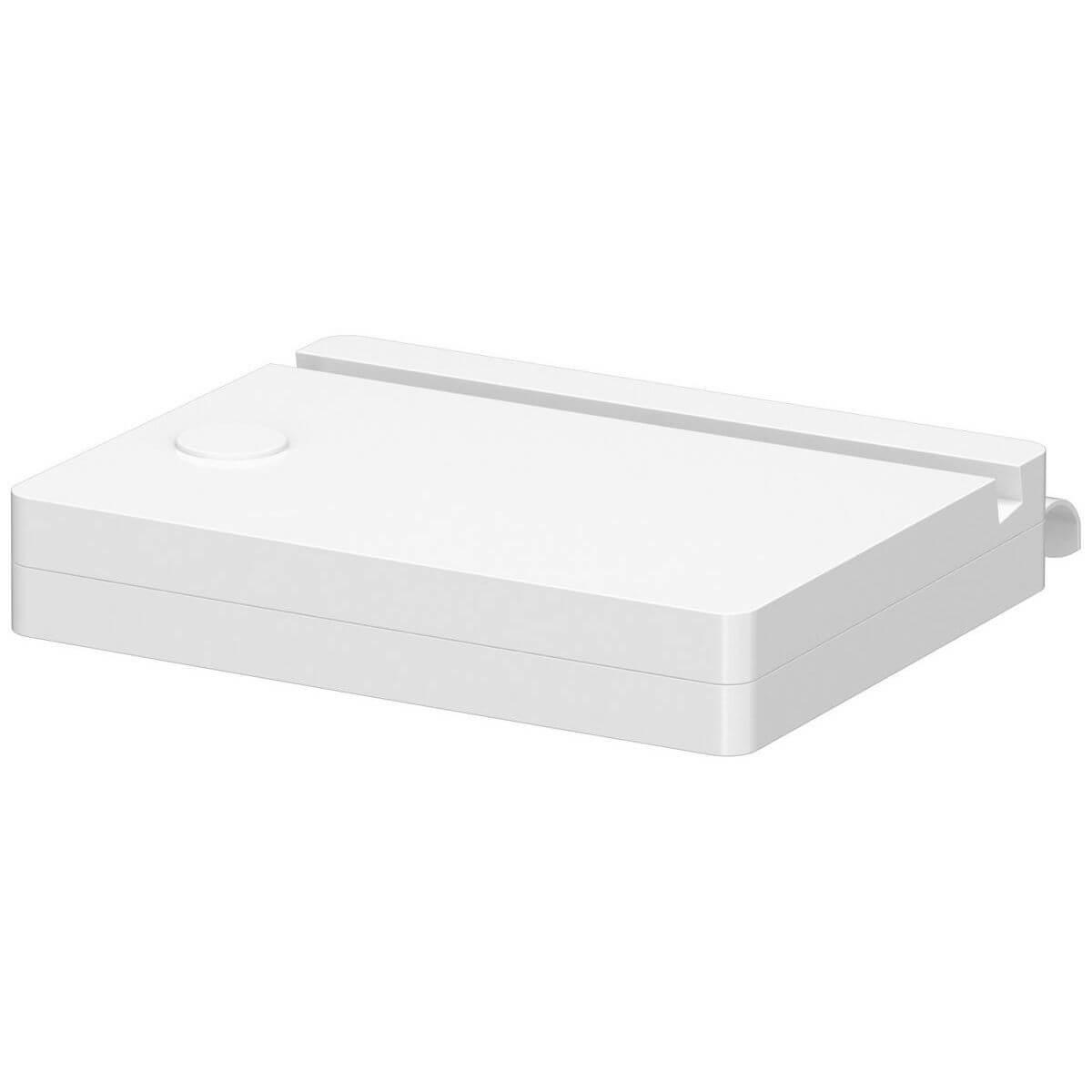 CLICKON by Flexa Support tablette tactile Blanc pour lit White