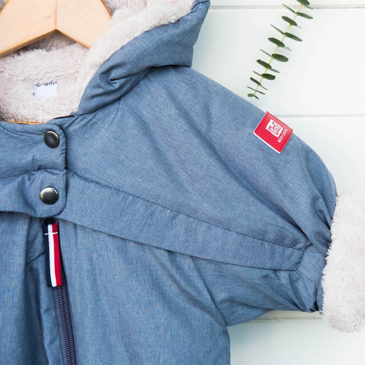 Combinaison 0-6m COMBI T-ZIP Redcastle heather blue