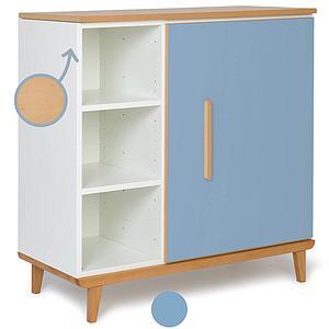 Commode 1 porte NADO capri blue