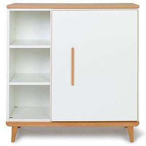 Commode 1 porte NADO white