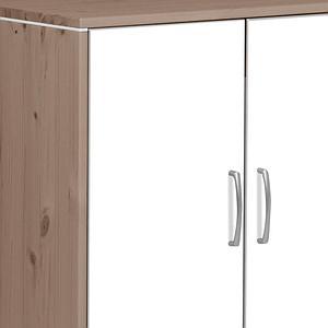 Commode 2 portes CLASSIC Flexa terra-blanc