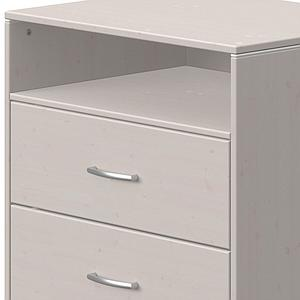 Commode 2 tiroirs 1 tablette CLASSIC Flexa grey washed