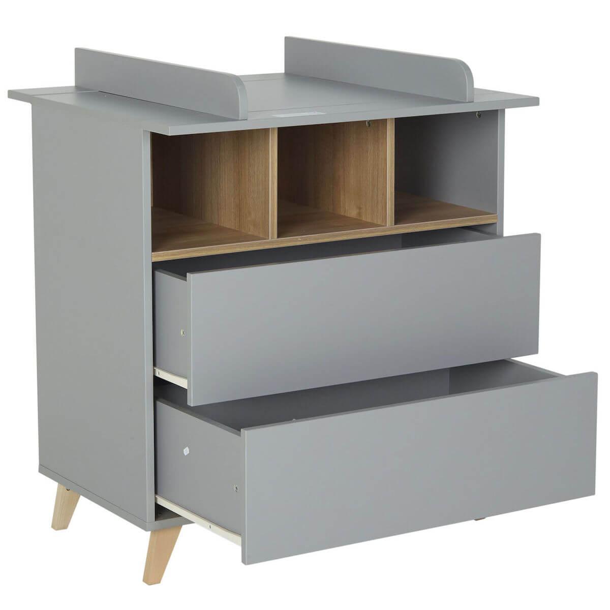 Commode 86x92cm LOFT Quax gris