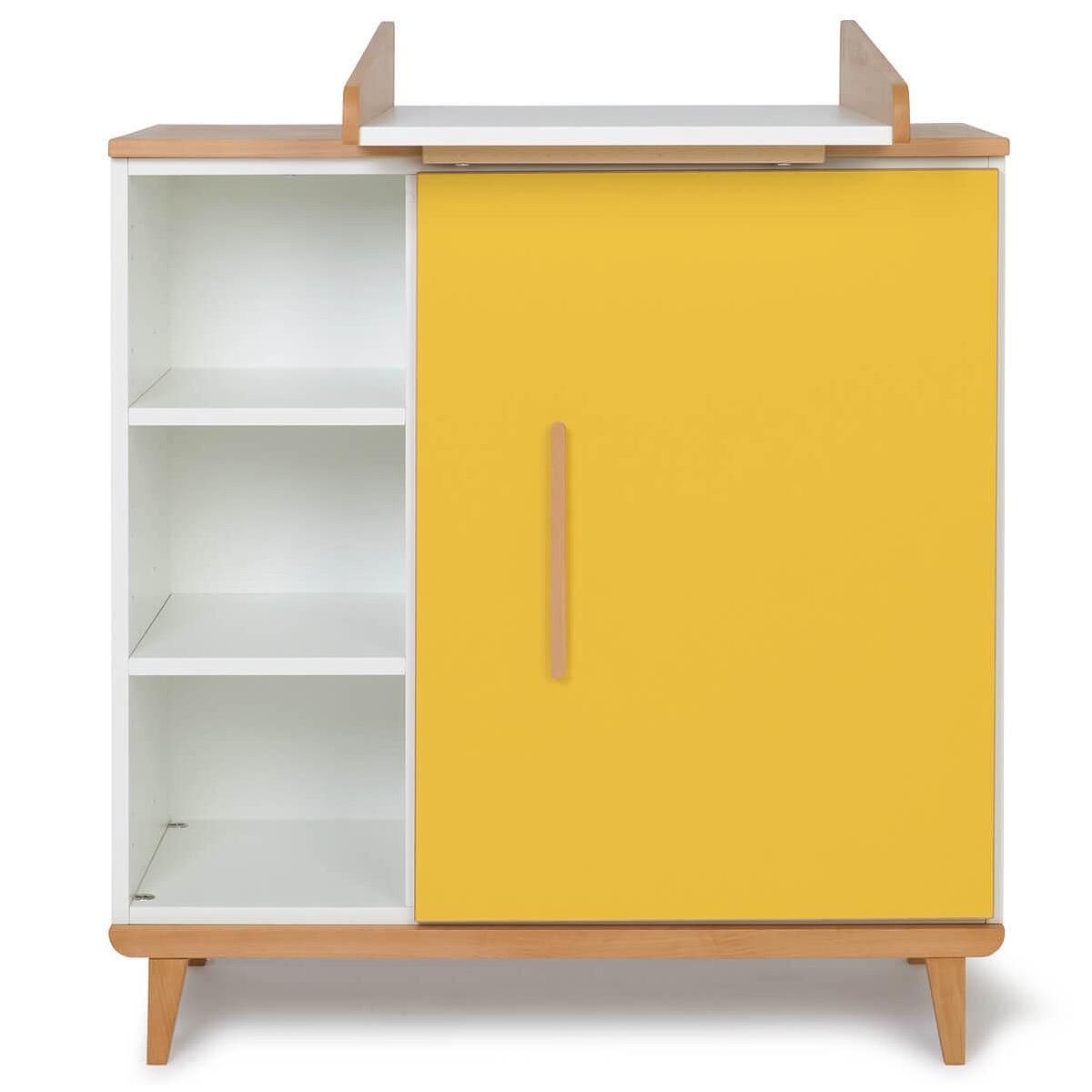 Commode à langer 1 porte NADO By A.K. sunshine yellow