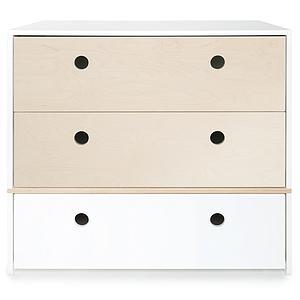 Commode COLORFLEX façades tiroirs white wash-white wash-white