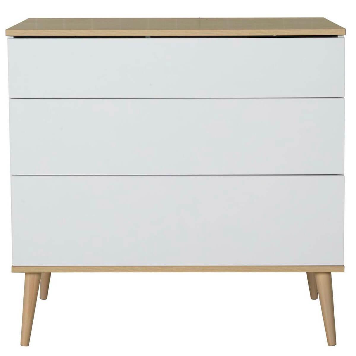 Commode FLOW Quax Chêne naturel-blanc