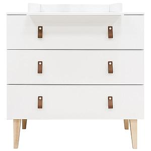 Commode INDY Bopita blanc-naturel