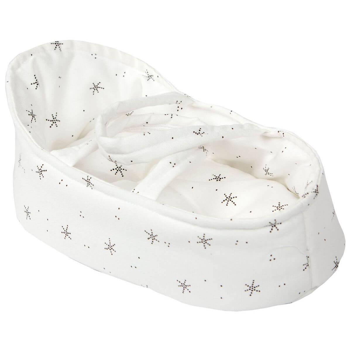 Couffin poupée 26cm STAR Barrutoys blanc