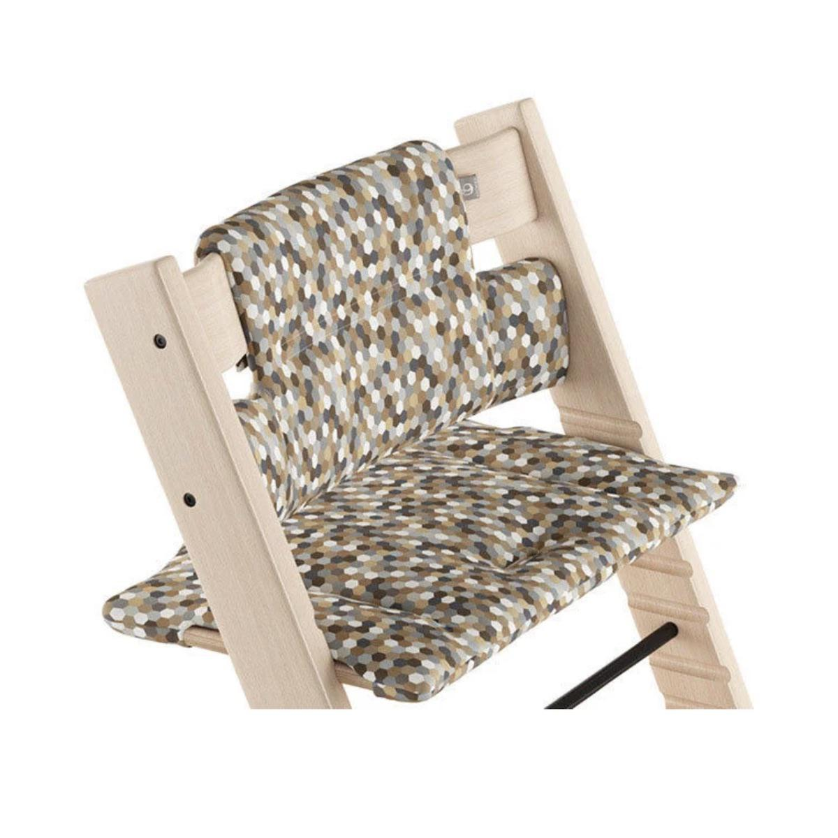 Coussin chaise haute TRIPP TRAPP Stokke Honeycomb Calm