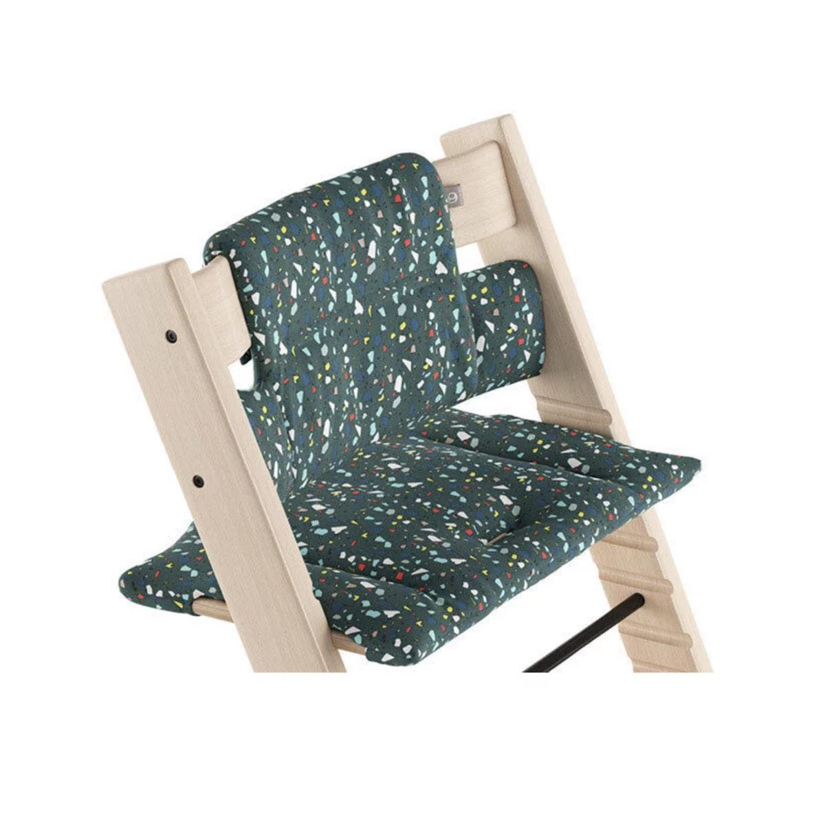 Coussin chaise haute TRIPP TRAPP Stokke Terazzo Petrol