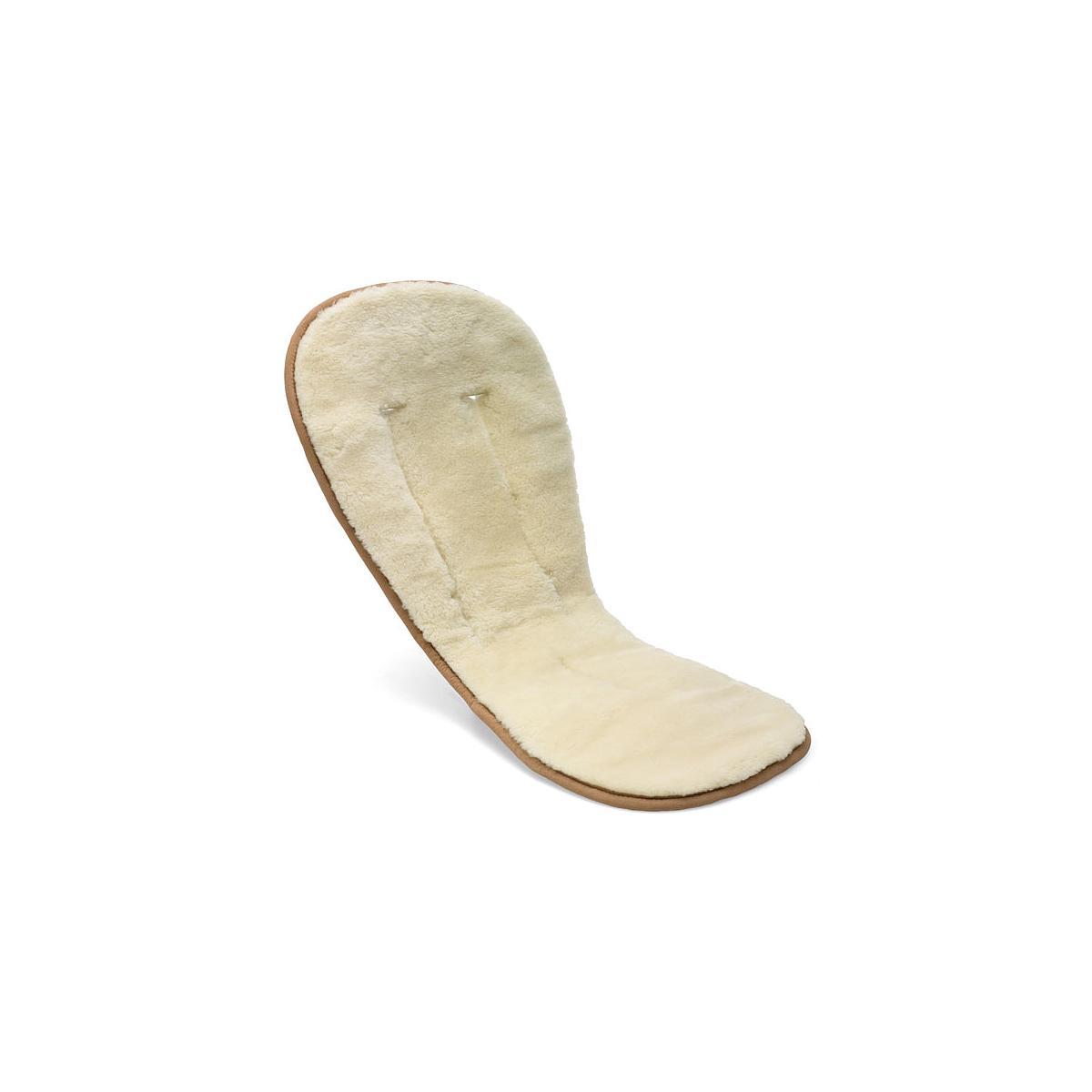 Coussin confort laine Bugaboo blanc cassé