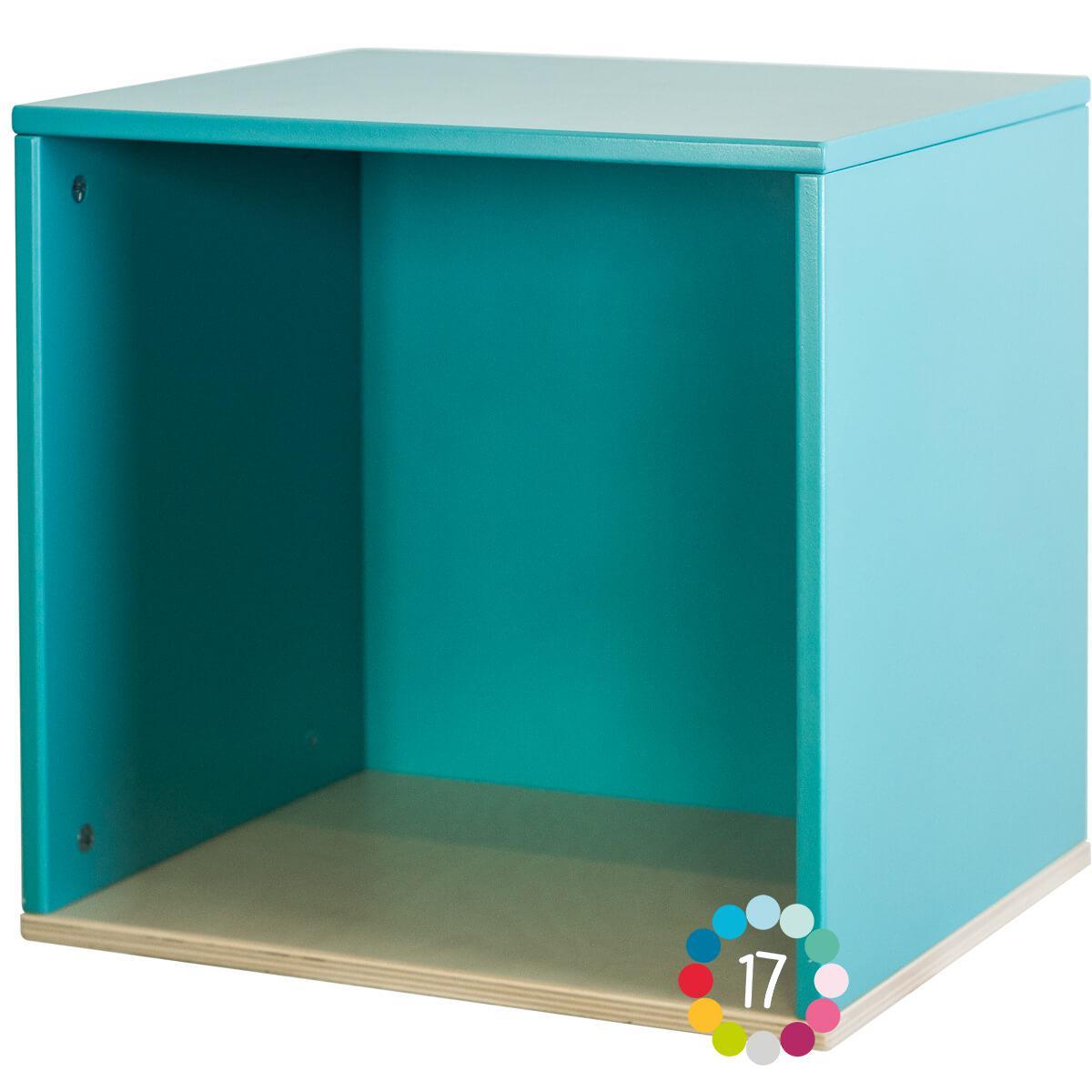 Cube mural COLORFLEX paradise blue