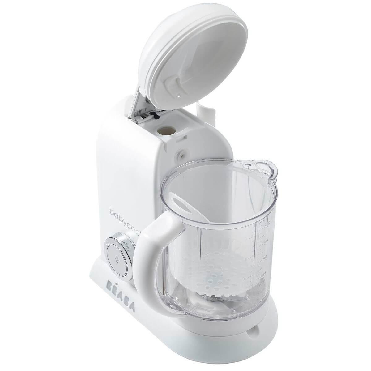 Cuiseur-vapeur BABYCOOK SOLO Beaba blanc-silver-édition limitée