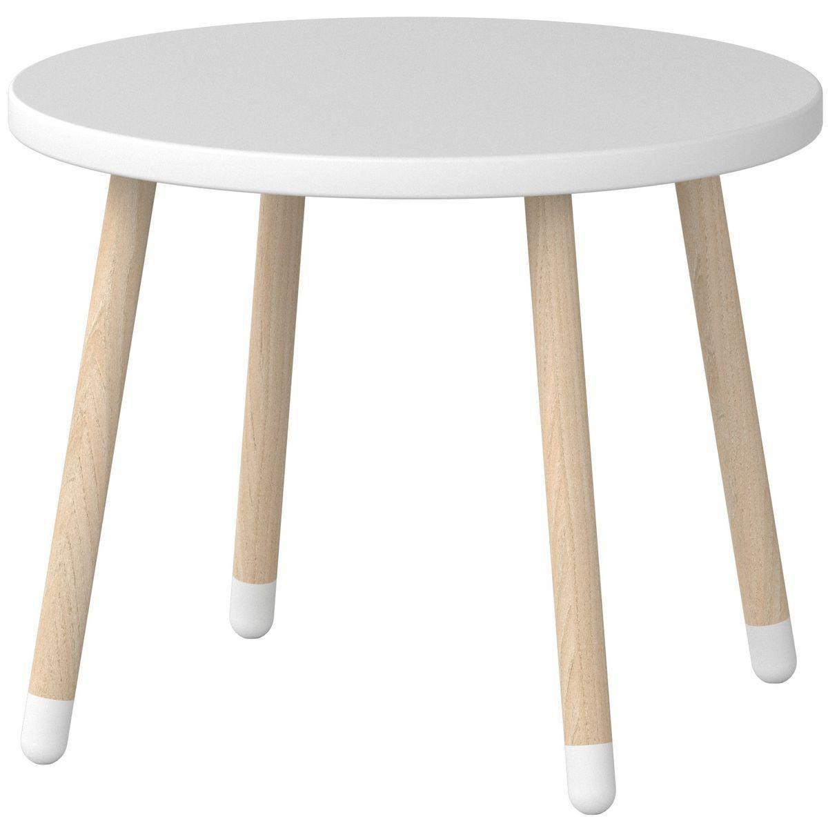 DOTS by Flexa Petite table enfant 60 cm Blanche
