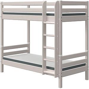 Echelle droite-pieds lit superposé haut CLASSIC Flexa grey washed