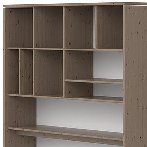 Etagère bureau-lit 126x203cm CLASSIC Flexa terra