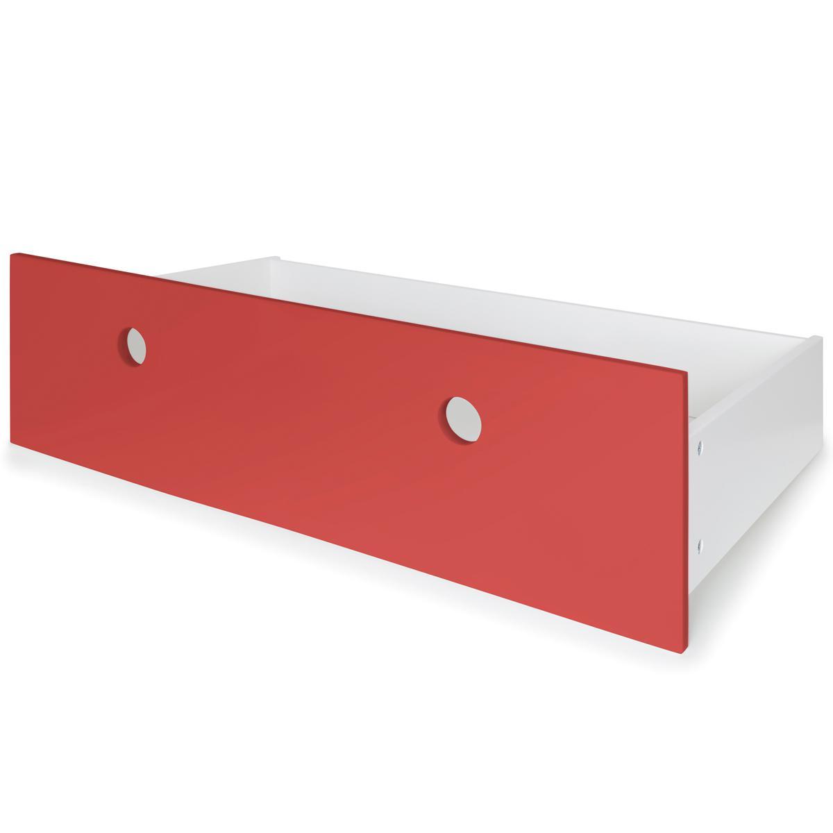 Façade tiroir L COLORFLEX true red
