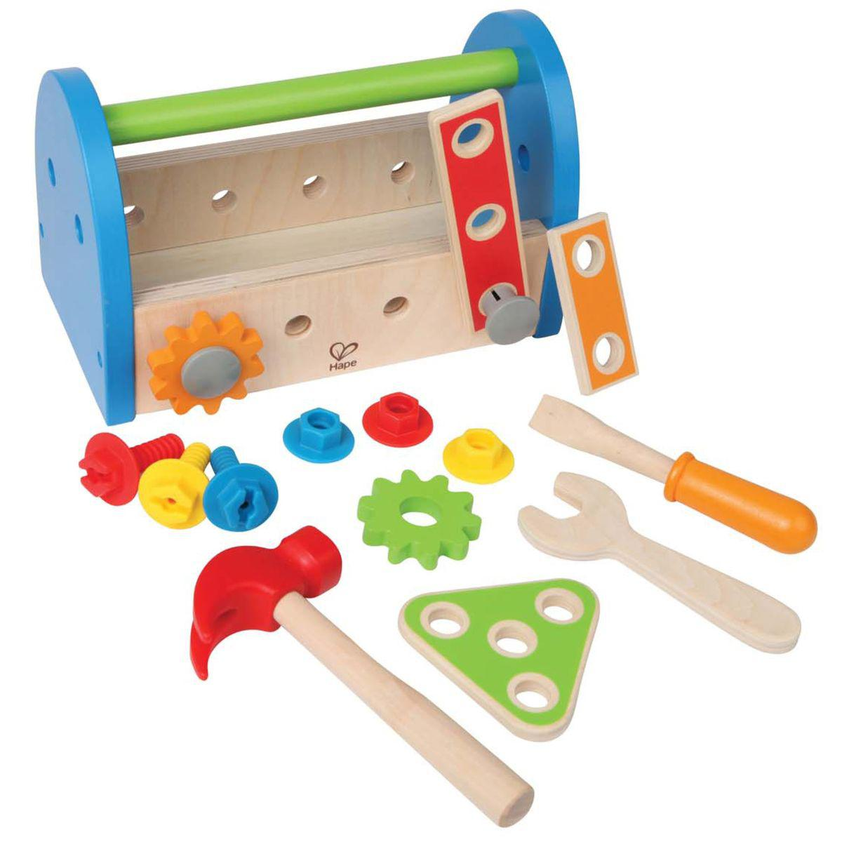 FIX IT TOOL BOX by Hape caisse à outils en bois