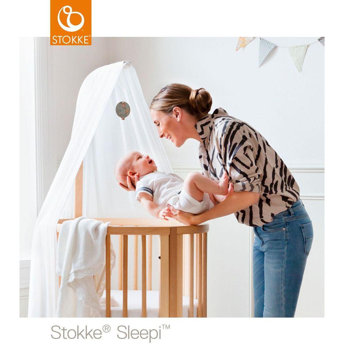Flèche de lit SLEEP Stokke blanc