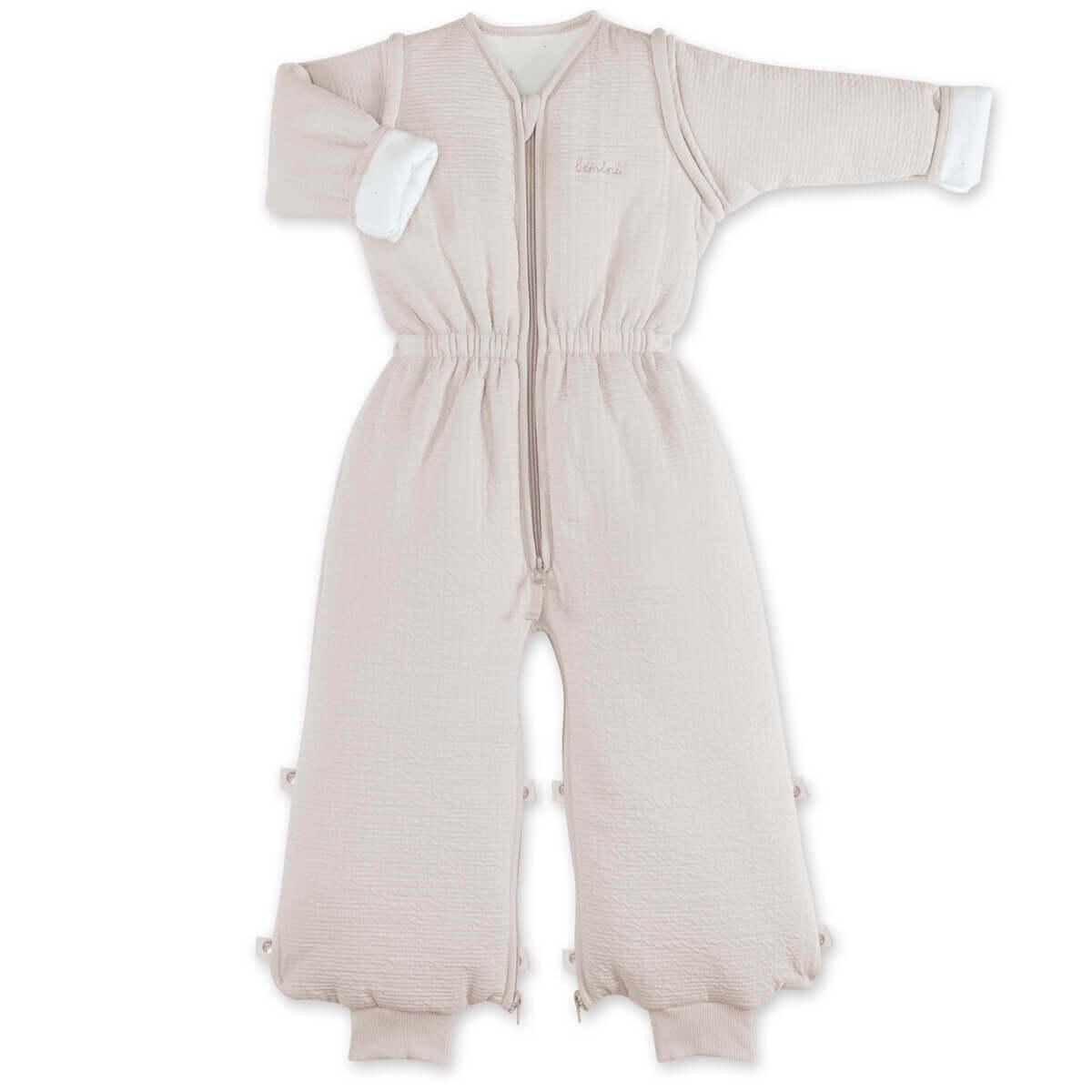 Surpyjama Enfants avec Jambes Coton Bio Hosenmax Gigoteuse Hiver comme /Ét/é Gigoteuse A Pied Taille 56//58 cm avec Motif Renard