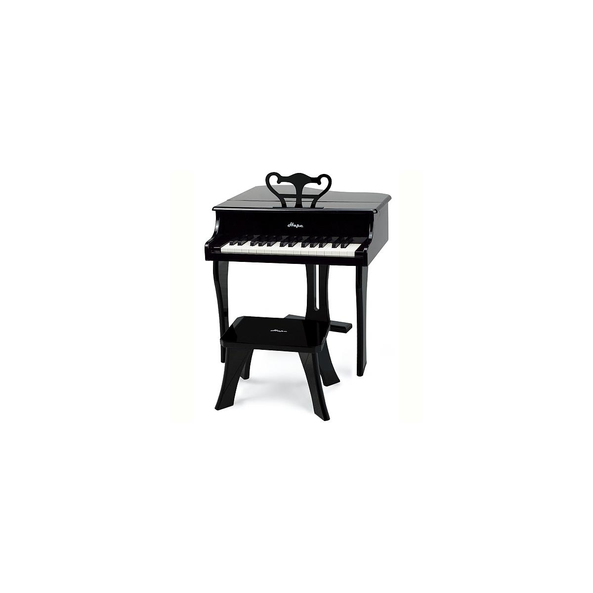HAPPY GRAND PIANO by Hape Piano Black