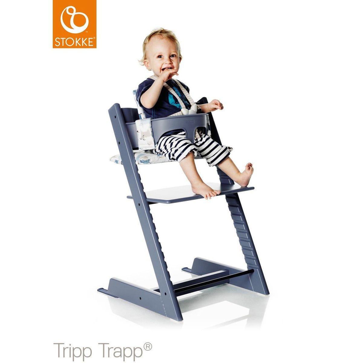 Abitare Kids Fr Harnais Chaise Haute Tripp Trapp Stokke