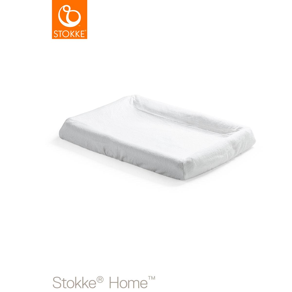 Housse matelas à langer HOME Stokke blanc