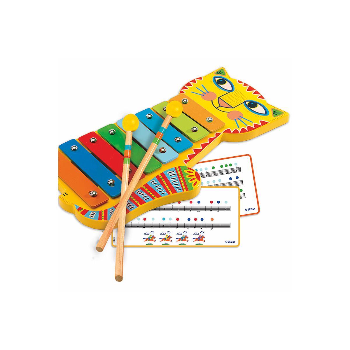 Instrument musique métallophone +3Y ANIMAMBO Djeco