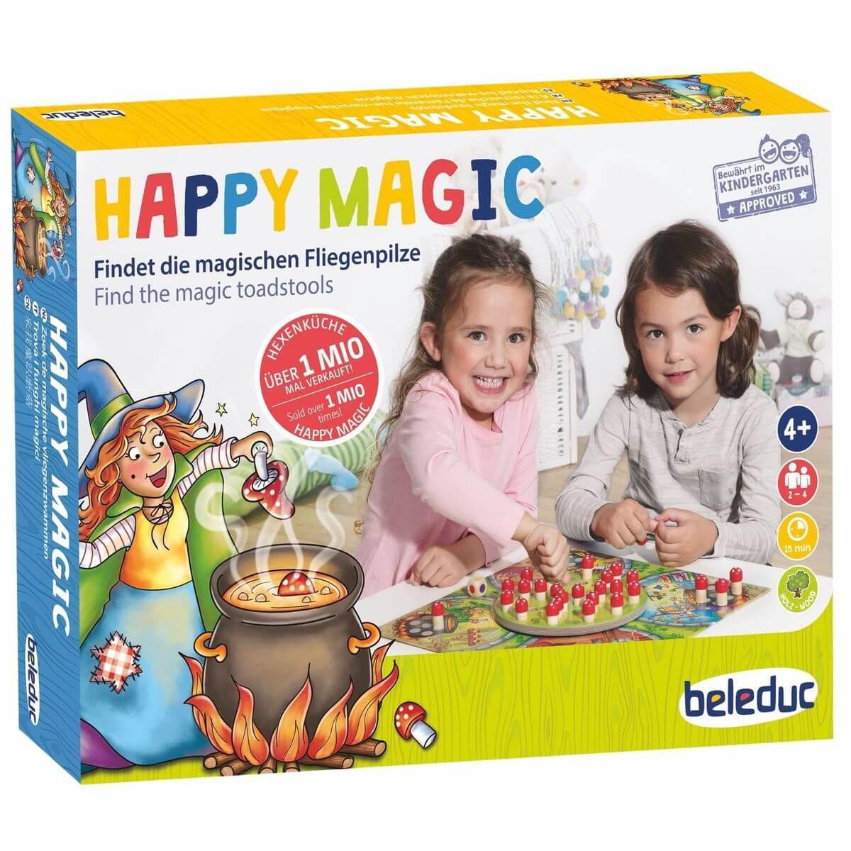 Jeu amusant HAPPY MAGIC Beleduc
