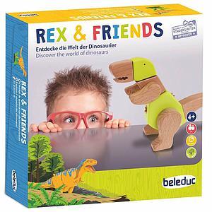 Jeu amusant REX AND FRIENDS Beleduc
