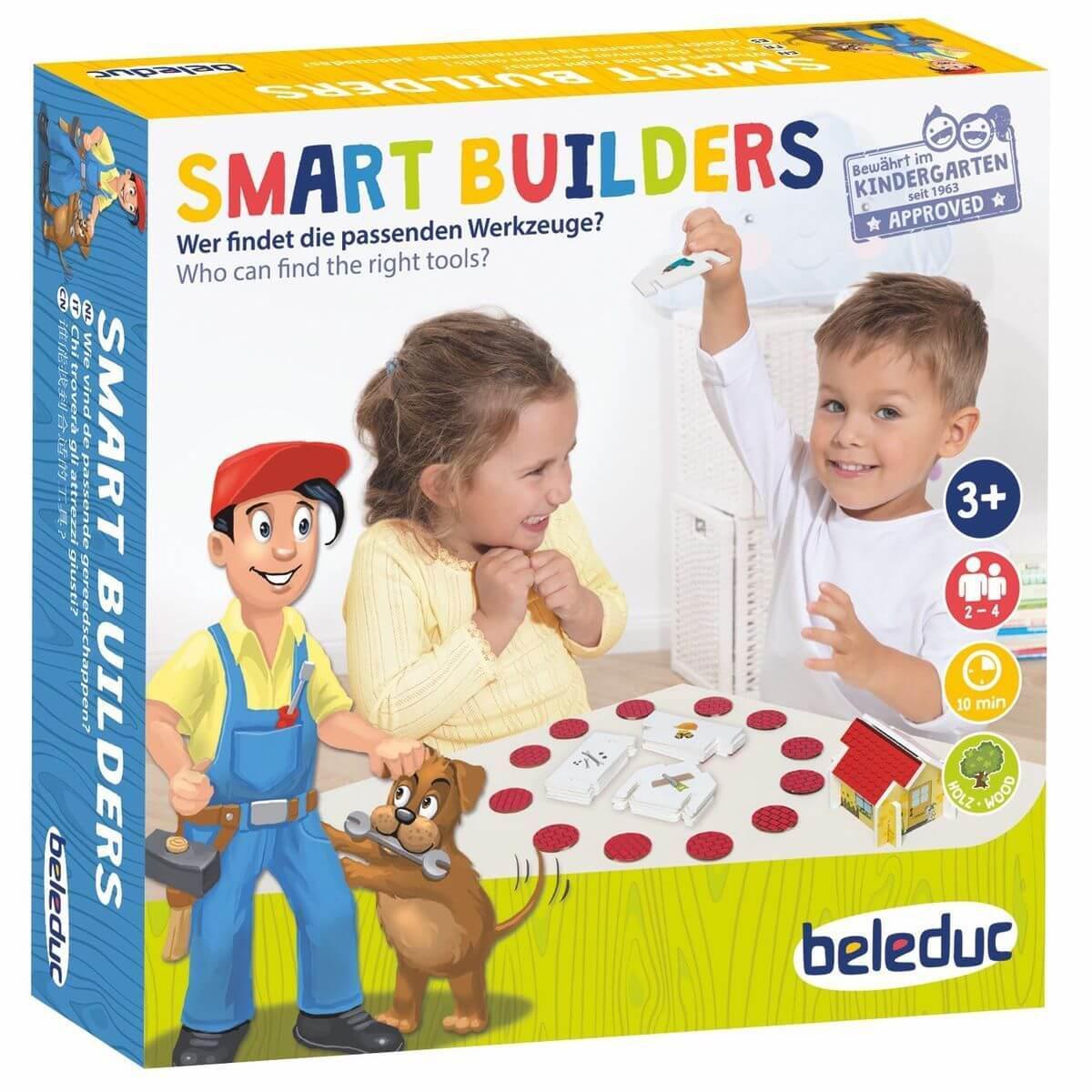 Jeu amusant SMART BUILDERS Beleduc