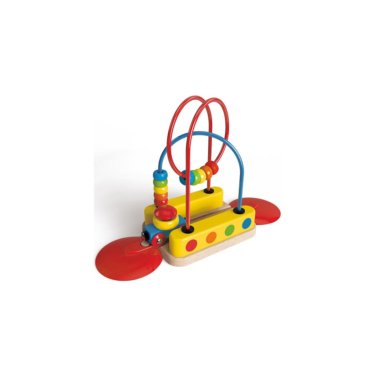 Jeu enfant circuit de train BEAD MAZE RAINBOW HAPE