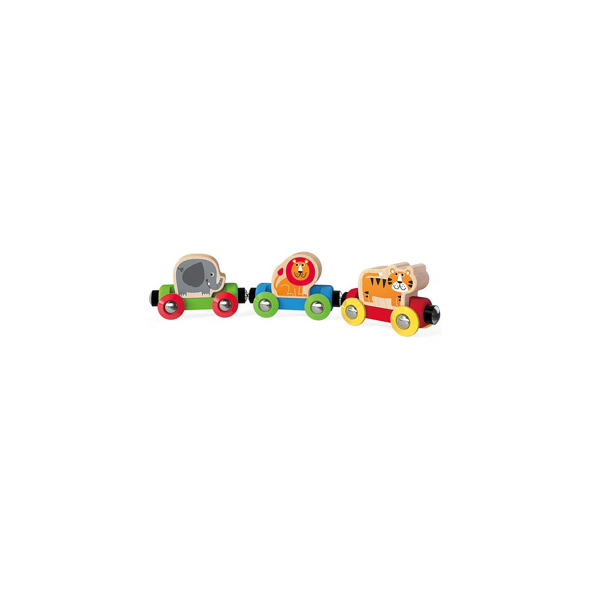 Jeu enfant circuit de train JUNGLE JOURNEY HAPE