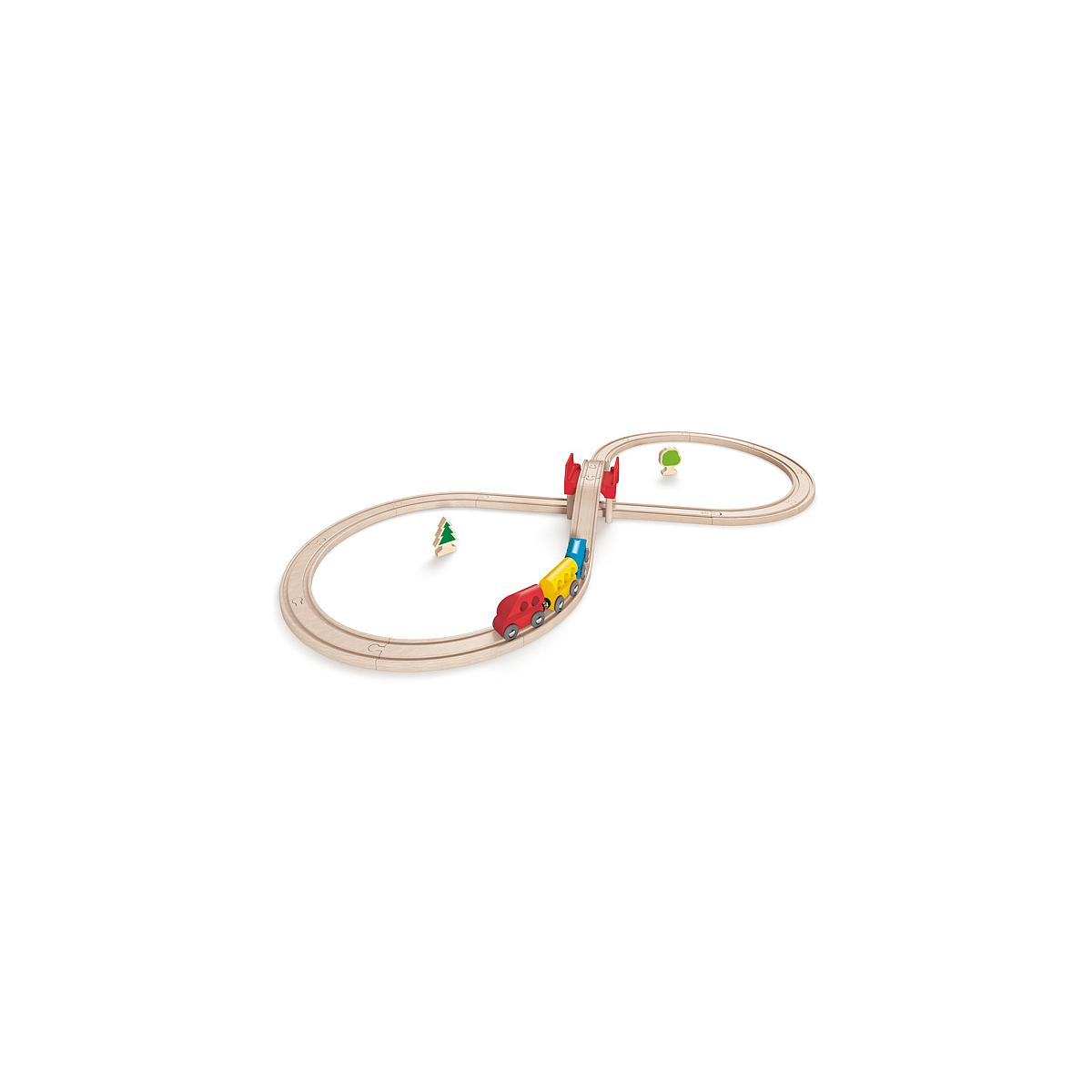 Jeu enfant circuit de train set FIGURE EIGHT HAPE