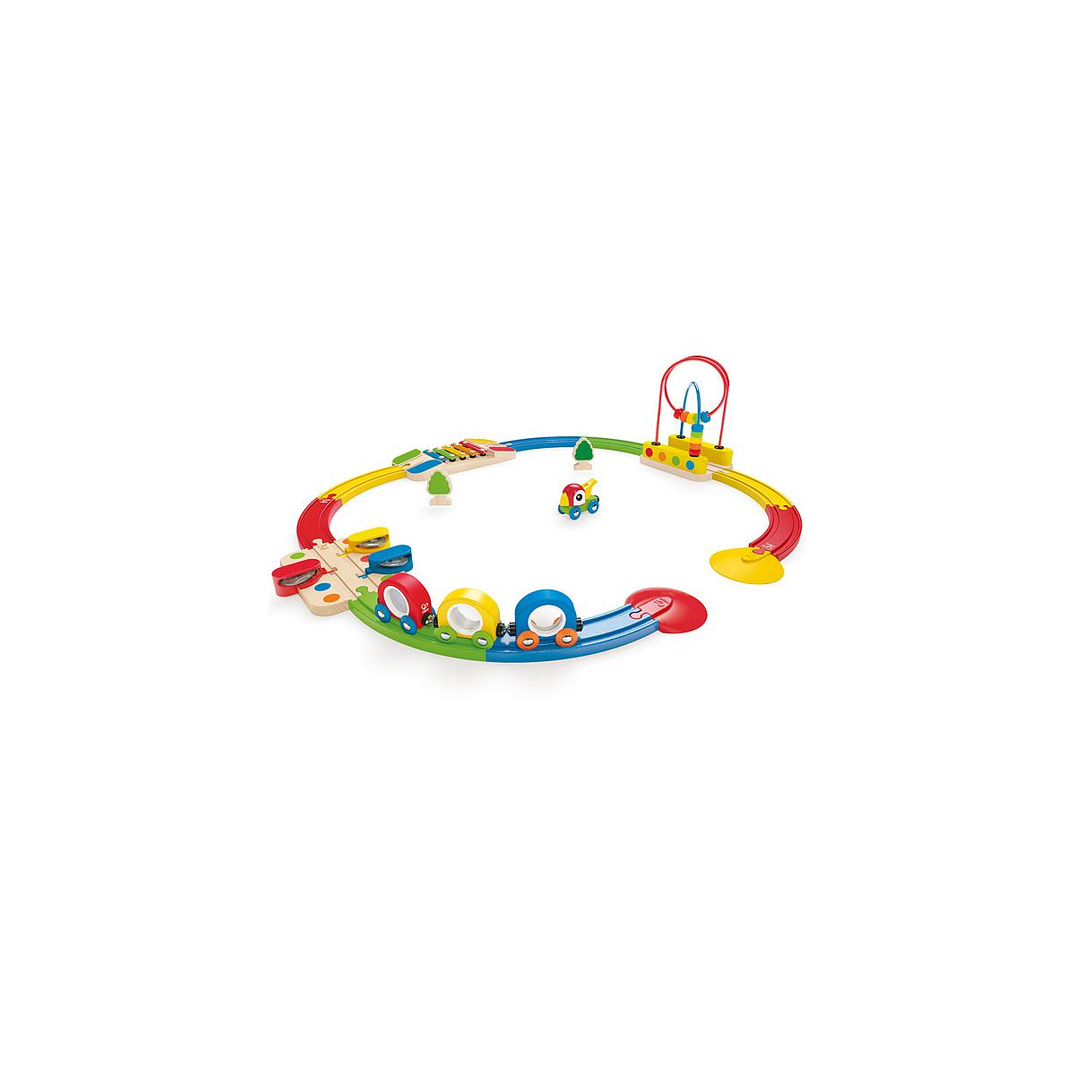 Jeu enfant circuit de train set SIGHTS & SOUNDS HAPE