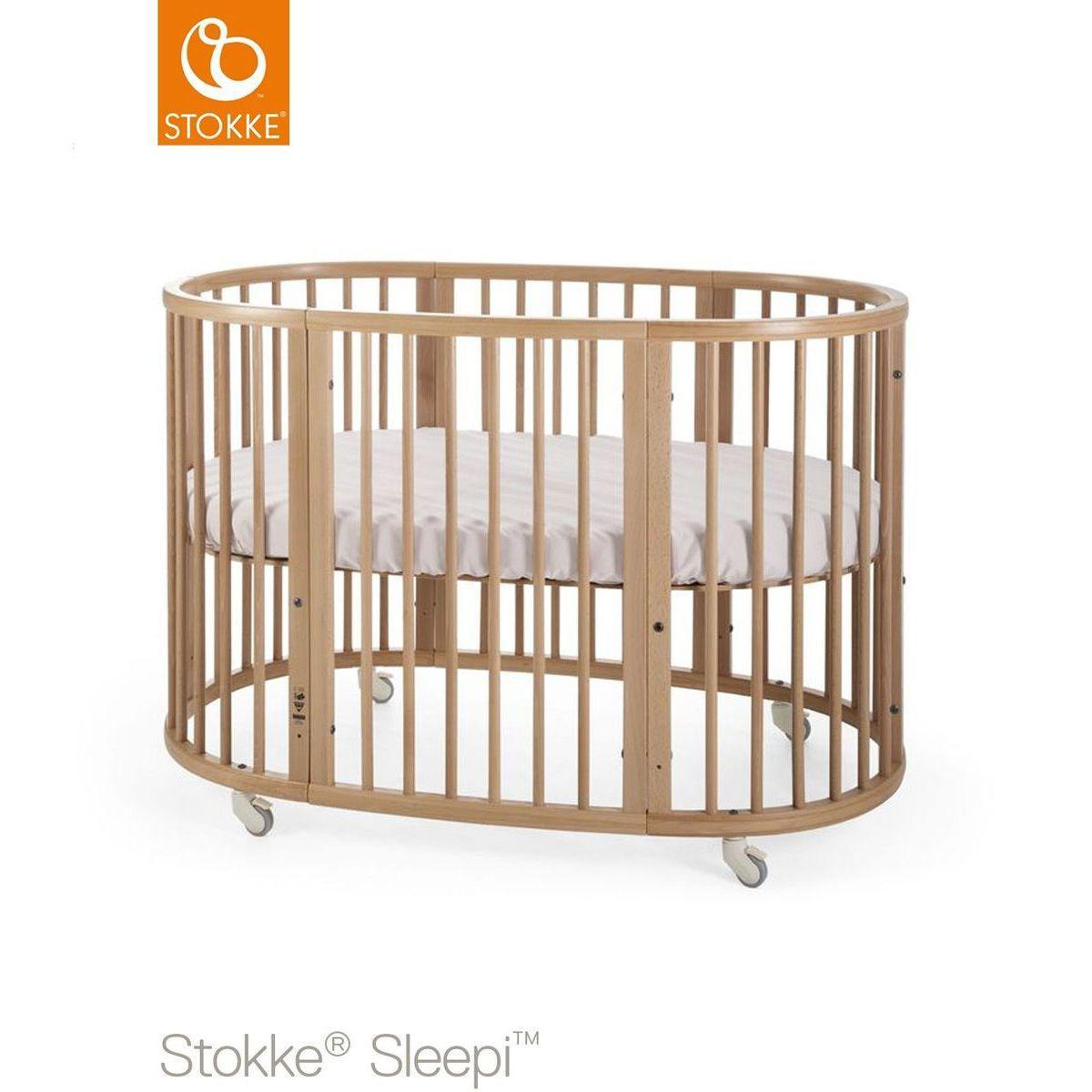 Kit extension lit bébé SLEEPI Stokke naturel