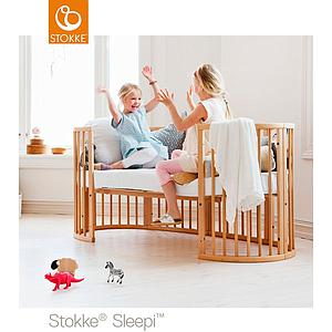 Kit extension lit junior SLEEPI Stokke naturel