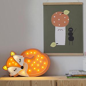 Lampe lumières RENARD Little Lights wild orange