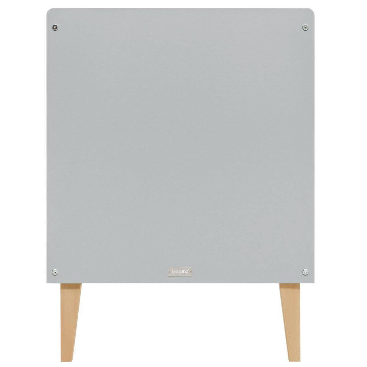 Lit 60x120cm EMMA Bopita blanc-gris