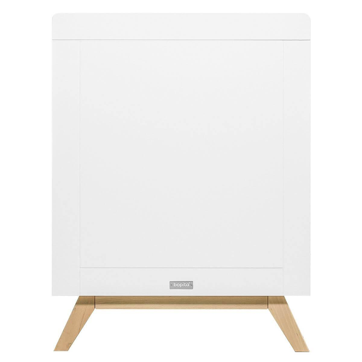 Lit 60x120cm FENNA Bopita blanc-naturel