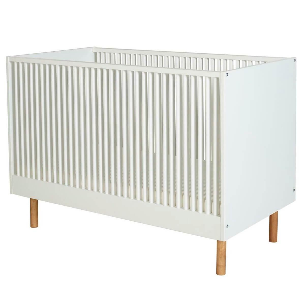 Lit 60x120cm HEIKO Quax blanc