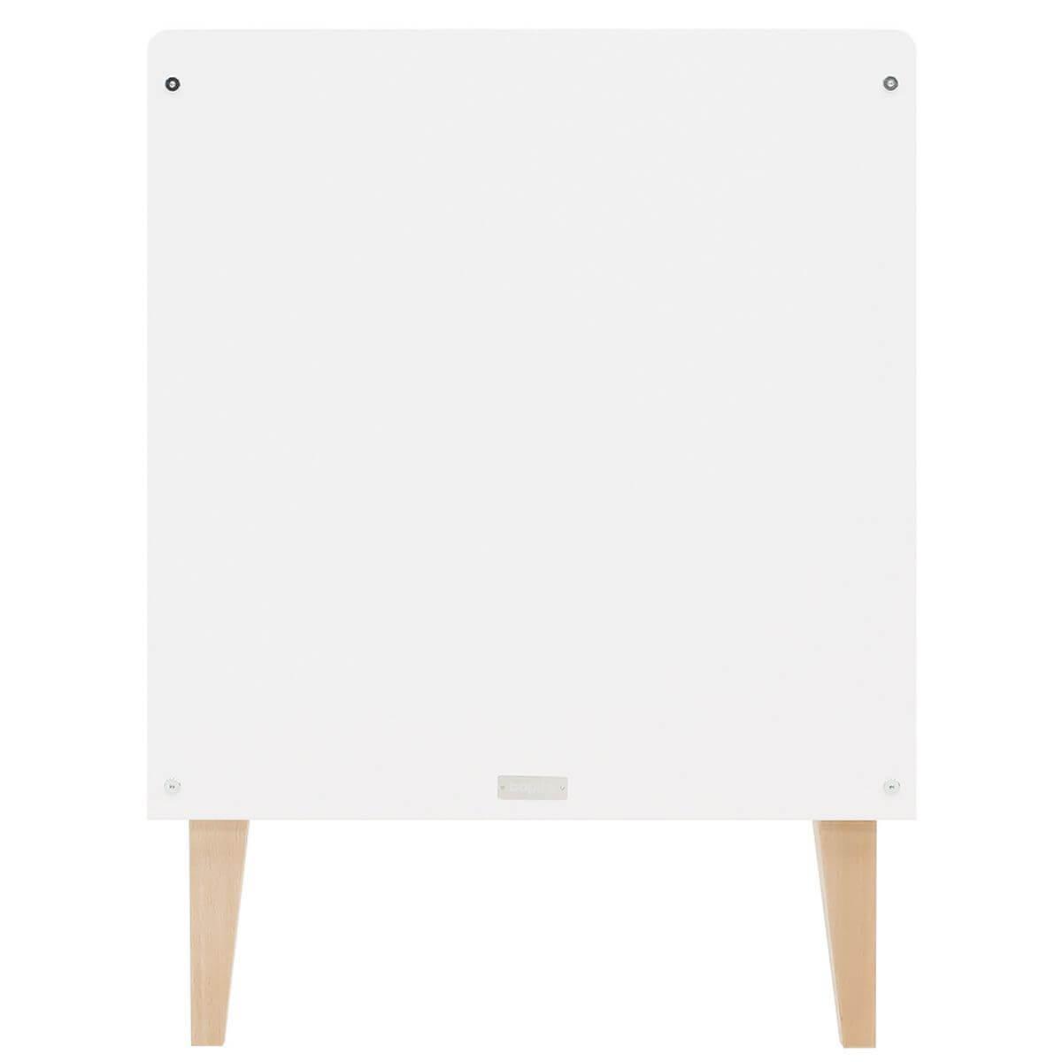 Lit 60x120cm INDY Bopita blanc-naturel