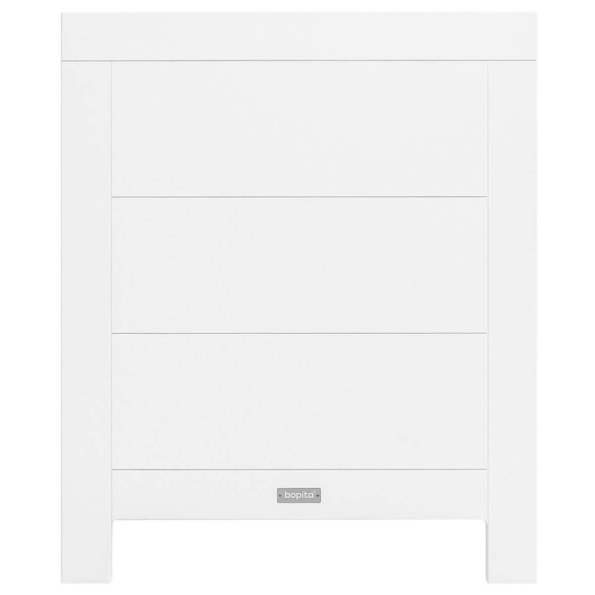 Lit 60x120cm LUCCA Bopita blanc