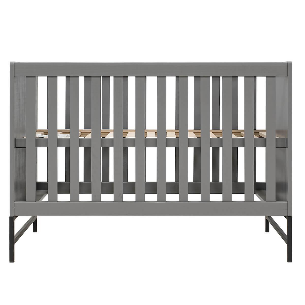 Lit 60x120cm MILO Bopita Steel Grey
