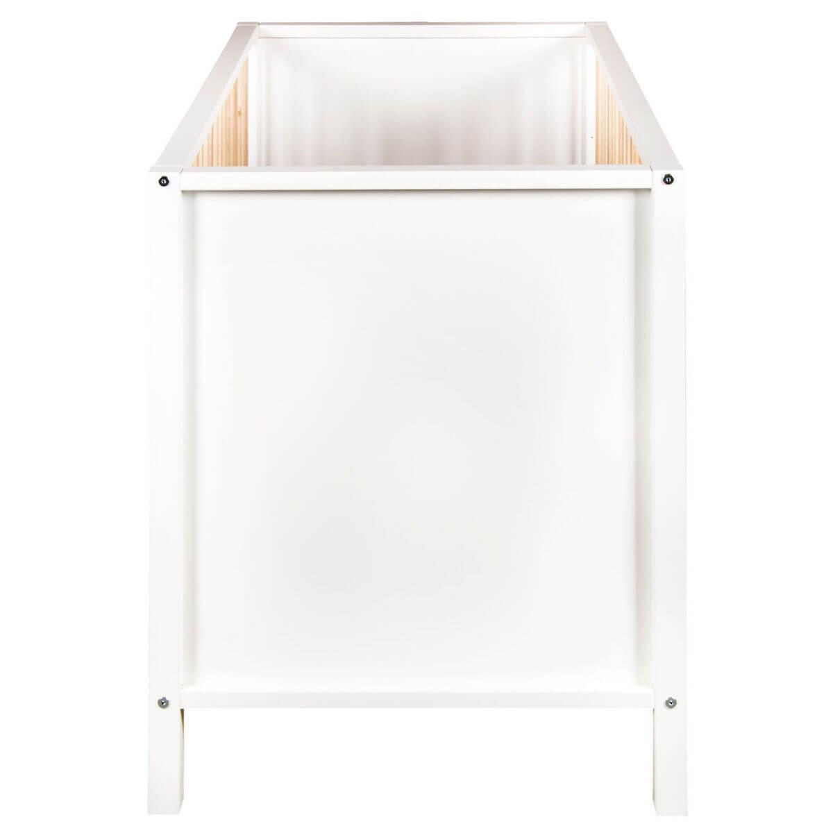 Lit 70x140cm NORDIC Quax blanc-naturel