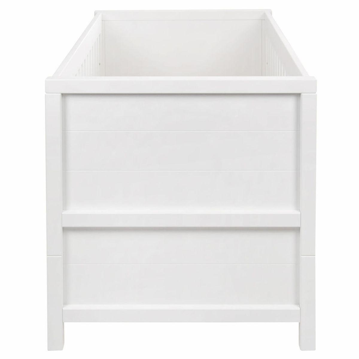 Lit 70x140cm STRIPES Quax  blanc