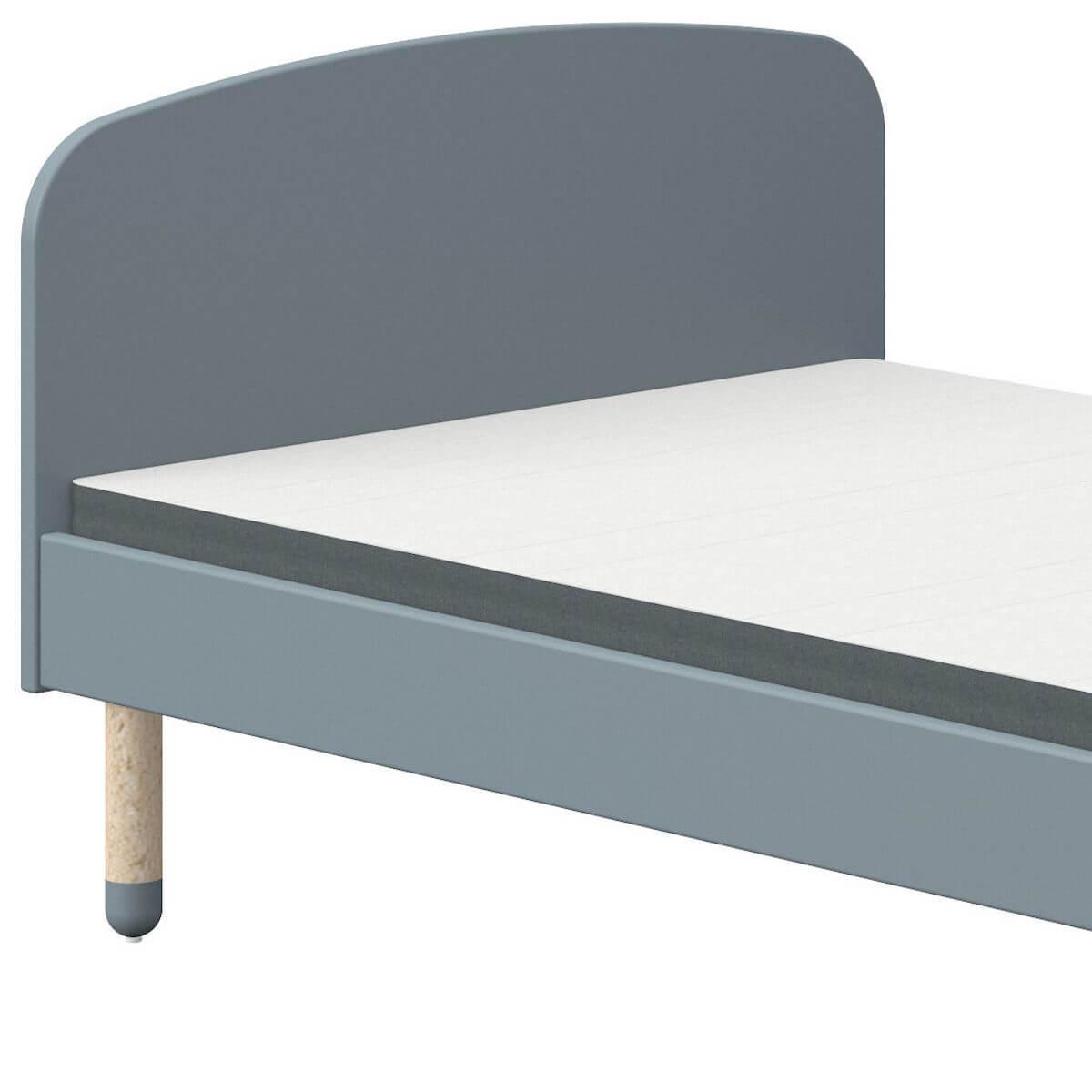 Lit 90x190cm DOTS Flexa bleu