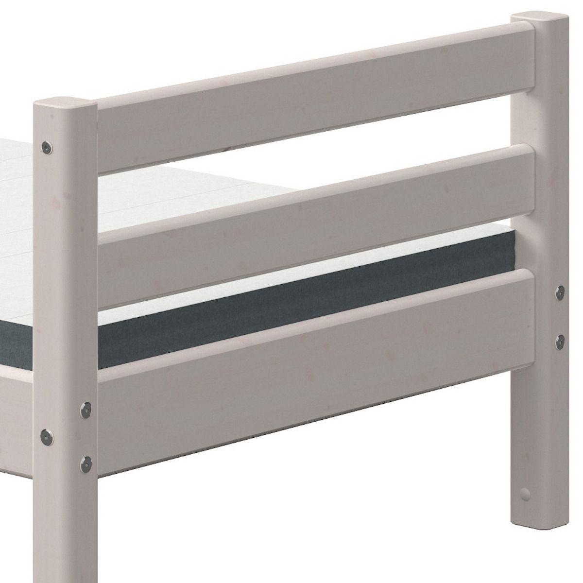 Lit 90x200cm CLASSIC Flexa grey washed