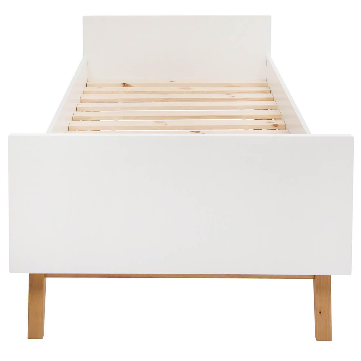 Lit 90x200cm TRENDY Quax blanc